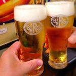 新宿駅「ベルク」一杯のビールから夢の花咲く事もある〜♬
