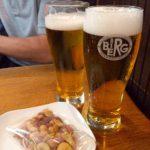新宿駅構内のビアandカフェ「ベルク」でビールを♪ いつ飲んでも美味しいって凄い!