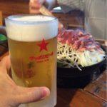 札幌のジンギスカン専門店「ツキサップじんぎすかんクラブ」で乾杯!クセのない生マトンが大自然の中で楽しめます