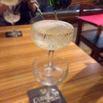 たまプラーザ駅前のバル「ババ リゾートバル」で乾杯!ハッピーアワーのワンコインセットでシャンパンタワー?