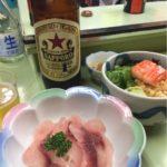 赤羽の居酒屋「まるます家」で乾杯!名物に美味いものあり「たぬき豆腐」