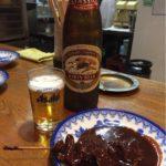 岐阜県、鵜沼のやきとん「つたや」で乾杯!赤味噌ベースのタレが世界一旨い