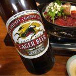 町田の馬肉専門店「柿島屋」で乾杯!格安の馬鍋で梅割りを。あぁ馬勝った牛負けた〜