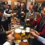 新橋の居酒屋「ニュー加賀屋」で乾杯!大人数でも大丈夫、安心の大箱居酒屋