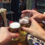鵜沼のとん焼き「つたや」で乾杯!創業60余年、鵜沼駅前で大人気の焼きとん酒場