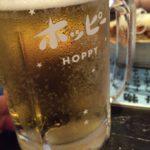 桜木町ぴおシティの居酒屋「ゴールデンもつ」で乾杯!生ホッピーは美味しいね