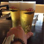 横浜・仲木戸にあるインスパ横浜のcafé&bar「INSPIRE」で乾杯!ヨコハマの夜景を楽しみながら温泉湯上がりエクストラコールド