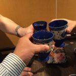 ニュー新橋ビルの立ち飲み「破天荒」で乾杯!美酒に合せるお刺身盛り合わせ