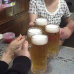沖縄・那覇市の「大衆食堂むつみ」で乾杯/観光客ゼロの渋い食堂で沖縄料理と樽生オリオン