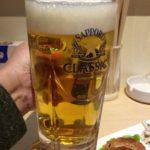 札幌・バスセンターの「せんベロ酒場へべれけ」で乾杯/おつまみ3品と酒3杯で千円?