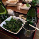 神田の立ち飲み「味の笛」でハシゴ酒(3軒目)越の白鳥を熱燗で