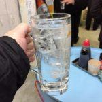 神田の立ち飲み「ドラム缶」でハシゴ酒(2軒目)アツアツのコロッケと150円の酎ハイ