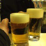 神田の立ち飲み「イチゴー」でハシゴ酒(1軒目)全てが黄金色に染まる激安酒場