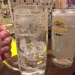 横浜の立ち飲み「やきとり平助」で乾杯/ビルの中の立ち飲み屋さん