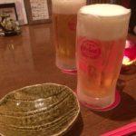 たまプラーザの沖縄料理「あぐぅーん」で乾杯/オリオン生を凍ったジョッキで