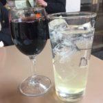 東神奈川の立ち飲み「じゆうな丘」で乾杯/和風バーニャカウダと豚軟骨煮込み