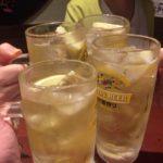 蒲田の居酒屋「うまいける」で乾杯/本格的な羊の串焼きに一同驚愕