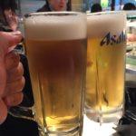 池袋の立ち食い寿司「魚がし日本一 池袋西口店」で乾杯/にぎり晩酌セット780円