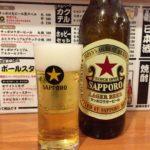 桜木町ぴおシティの立ち飲み「じぃえんとるまん」で乾杯/赤星大瓶380円の魅力