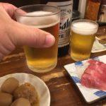 上野の立ち飲み「たきおか」で乾杯/サッと寄ってキューッとね