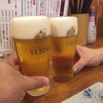四ツ谷 角打ち「スタンドバーサカグチ」│美味しいヱビスの樽生ビールが360円