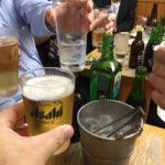 板橋 居酒屋「喜多八 」│チョイ呑み倶楽部の10月例会は渋いホルモン焼き屋で