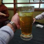 蒲田 餃子「金春新館」│チョイ呑み2次会はパリッと旨い羽根つき餃子と紹興酒