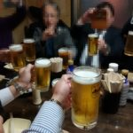 飯田橋 立ち飲み「やまじ」チョイ呑み倶楽部2017忘年会はナポリタンにキャビアのトッピング!?