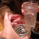 新橋 立ち飲み「たち飲み 吟 新橋店」オヤジビルで〆飲み