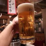 溝の口 居酒屋「ただいま」生ビール210円、ハイボール130円!祝1周年記念