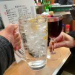 大井町 立ち飲み「晩杯屋 ゼームス坂上店」やっぱり安いぞ〝いこい系立呑み〟