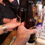 【上野】飲める魚屋『魚草』のモウカの星とサッポロ小瓶