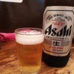 【上野】ビール大瓶410円!『立飲み たきおか』で上野ハシゴ酒のスタートをスーパードライで切る