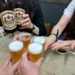 【横浜・新子安】ハマ飲みしようぜ!『市民酒蔵諸星』でキンキンに冷えた赤星とあつあつシウマイ