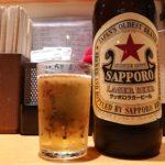 【上野】ふれあい酒場!『ほていちゃん 上野店』の立ち飲みカウンター限定の赤星を410円で楽しもう
