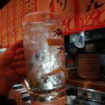 【町田】激安立ち飲みチェーン!『晩杯屋 町田109店』安定のゴールデンチュウハイ