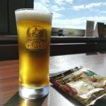 【新千歳空港】北海道最後のビール!『スーパーラウンジ』でサッポロクラシックの生を
