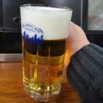 【北千住】昭和の居酒屋!『千住の永見』のアツアツ千寿揚げでコップ酒を
