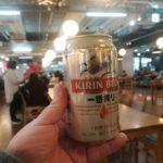 【成田空港】朝から缶ビール!『ローソン 成田国際空港第3旅客ターミナルビル店』で朝食を