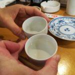 【横浜・大口】駅徒歩1分!『七福』寿司居酒屋で美味いマグロを熱燗でいただきます
