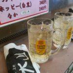 【上野】やみメン120円!『肉の大山』ガキの頃の買い食い気分で味わい2割増し
