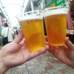【阪東橋・横浜橋商店街】商店街でちょい飲み!『大人の縁日』商店街の惣菜で乾杯