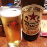 【池袋】居酒屋「酒蔵 力」で美味いもつ焼きと赤星大瓶★