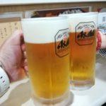 【大阪・南森町】たこ焼き飲み!『たのし家』の生ビール付きのワンコインセットが嬉しい