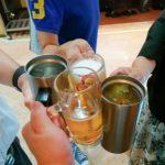 【新橋】オヤジビル地下の大人気立ち飲み!『破天荒』でワンコイン刺し盛りで乾杯っ!
