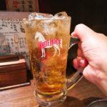 【池尻大橋】オリハイで乾杯!『四文屋』の焼きとんは安定の美味しさですね