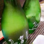 【神田】麗しの緑の小瓶!『味の笛』神田飲みの〆は立ち飲みで越の白鳥を