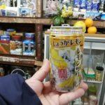 【横浜・子安】のんびり角打ち『美加登屋酒店』土曜の夜を宝焼酎の〝しょうがレモン〟で〆る
