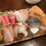 【大島】刺盛500円!『番外地』立ち飲みで美味い刺身の盛り合わせを頂く
