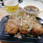 【横浜橋商店街】立ち飲み!『まいめり』でアツアツのたこ焼きと生ビール